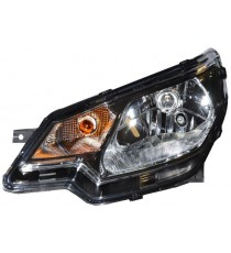 Reflektor lewy aixam zakres CITY COUPE CROSSLINE CROSSOVER GTO zakres wizji i sensacji czarne tło wnętrza )