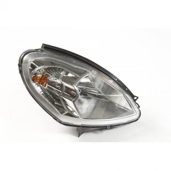 Ligier reflektor przedni prawe światło przednie ligier ixo, js 50 chrom tło
