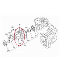 POMPKA WODY AIXAM Przed 2003 KUBOTA ENGINE Z402 I Z482 (TURBINE 10 MM)
