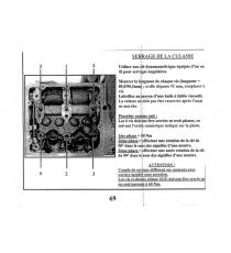 Uszczelka głowicy cylindra silnika Focs / Progress lombardini (bez nacięcia)