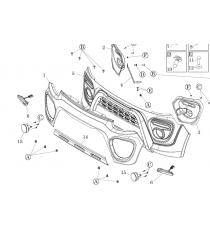 Zderzak przedni Microcar MGO 6