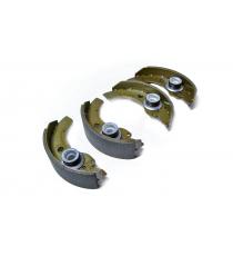 Zestaw 4 szczęk hamulcowych aixam microcar / ligier / jdm / chatenet diametre ( bęben 160mm )